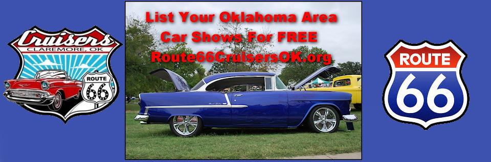 Oklahoma area car shows and events listing  We list Oklahoma